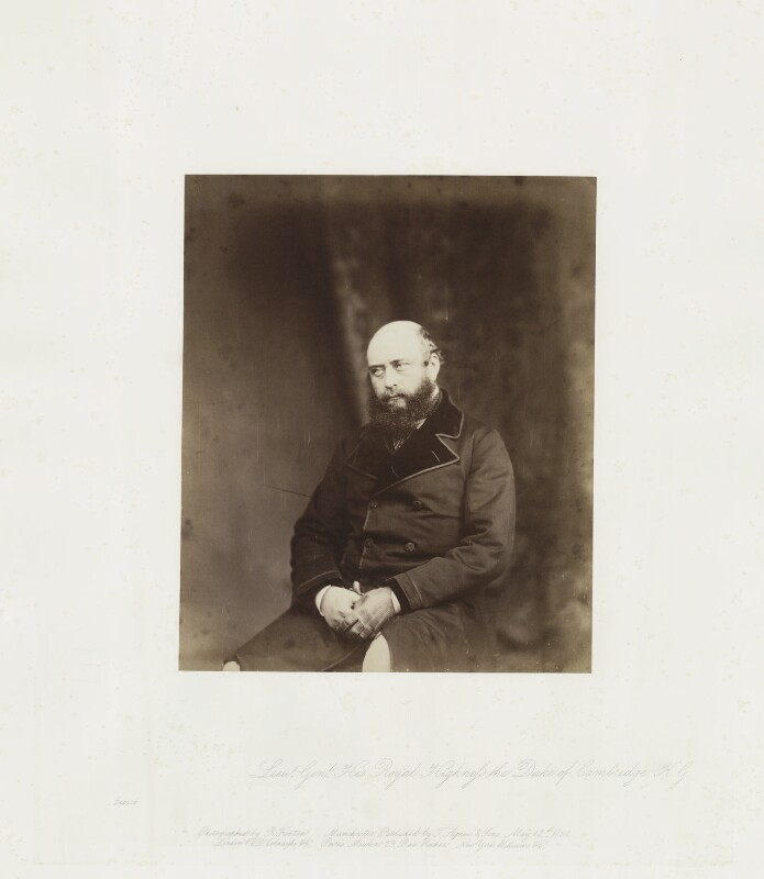 Prince George William Frederick Charles, 2nd Duke of Cambridge, by Roger Fenton, 1855, published 1856 - NPG Ax24900 - © National Portrait Gallery, London