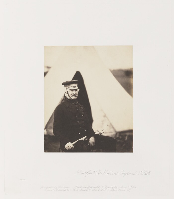 Sir Richard England, by Roger Fenton, 1855 (1856) - NPG Ax24911 - © National Portrait Gallery, London
