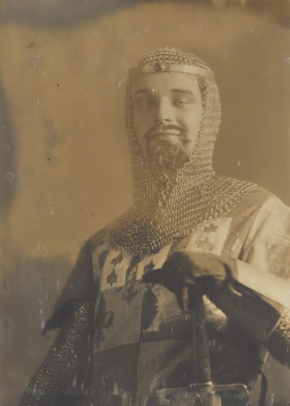 Sir Gyles Isham, 12th Bt, by Howard Instead, 1920s - NPG Ax24992 - © National Portrait Gallery, London