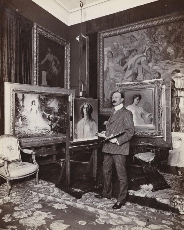 Robert Sauber, by Frederic G. Hodsoll, 1904 - NPG Ax25169 - © National Portrait Gallery, London