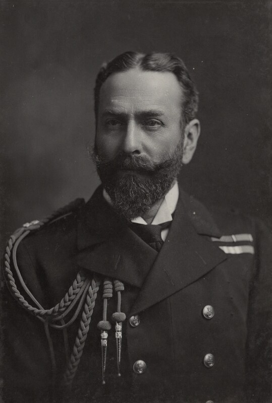 Louis Alexander Mountbatten, 1st Marquess of Milford Haven (Prince Louis of Battenburg), by Lafayette, circa 1914 - NPG Ax26438 - © National Portrait Gallery, London