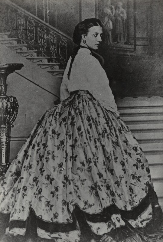 Queen Alexandra, by Lafayette, after  Vernon Heath, (1863) - NPG Ax26440 - © National Portrait Gallery, London
