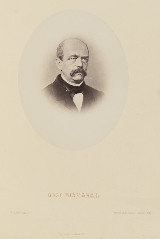 Prince Otto Edward Leopold von Bismarck-Schonhausen, by Numa Blanc Fils,  - NPG Ax27692 - © National Portrait Gallery, London