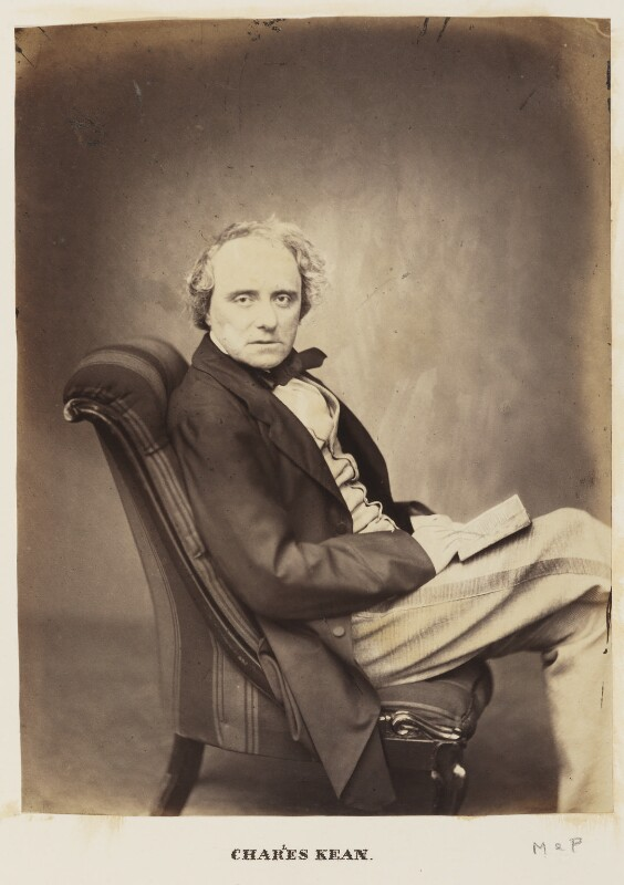 Charles John Kean, by Maull & Polyblank,  - NPG Ax27699 - © National Portrait Gallery, London