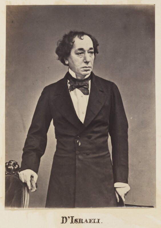 Benjamin Disraeli, Earl of Beaconsfield, by Unknown photographer,  - NPG Ax27713 - © National Portrait Gallery, London