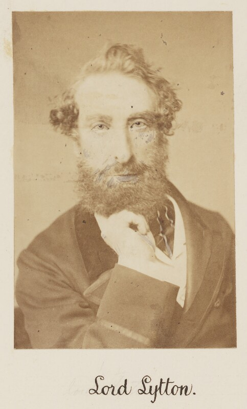 Edward Robert Bulwer-Lytton, 1st Earl of Lytton, by Unknown photographer,  - NPG Ax27716 - © National Portrait Gallery, London