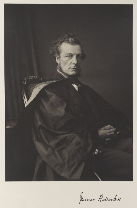 Sir James Roberton, by Thomas Annan, published 1871 - NPG Ax27853 - © National Portrait Gallery, London