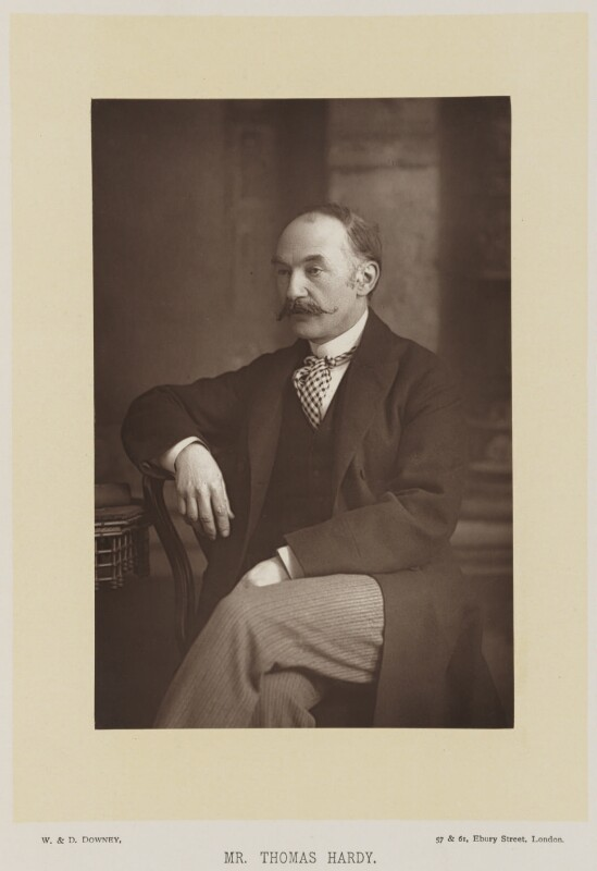 Thomas Hardy, by W. & D. Downey, published by  Cassell & Company, Ltd, published 1894 - NPG Ax27917 - © National Portrait Gallery, London
