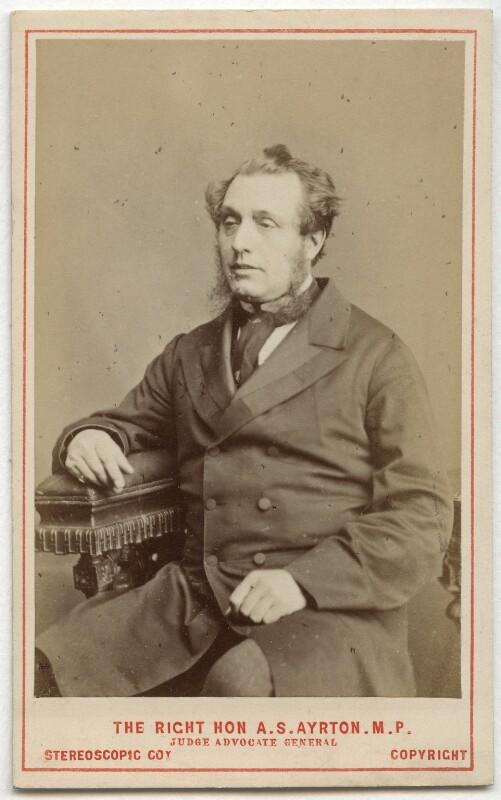 Acton Smee Ayrton, by London Stereoscopic & Photographic Company, circa 1873 - NPG Ax28457 - © National Portrait Gallery, London