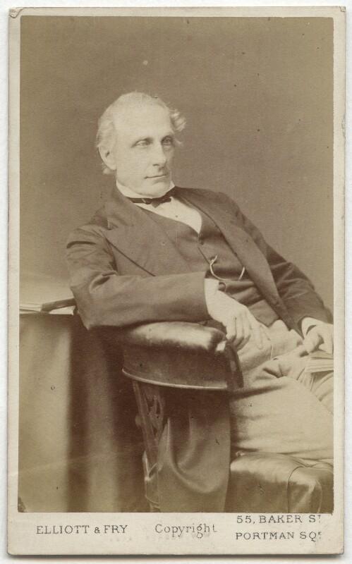 Alexander William Kinglake, by Elliott & Fry, 1870s - NPG Ax28567 - © National Portrait Gallery, London