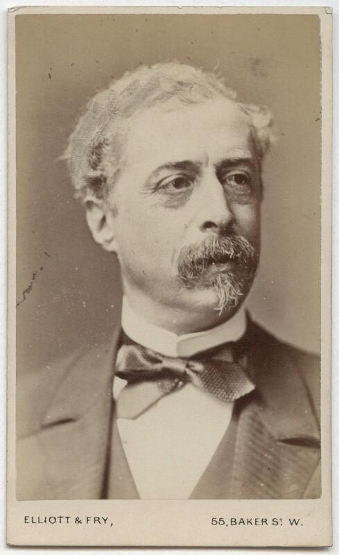 Sir Richard Wallace, 1st Bt, by Elliott & Fry, late 1870s-1880s - NPG Ax28574 - © National Portrait Gallery, London