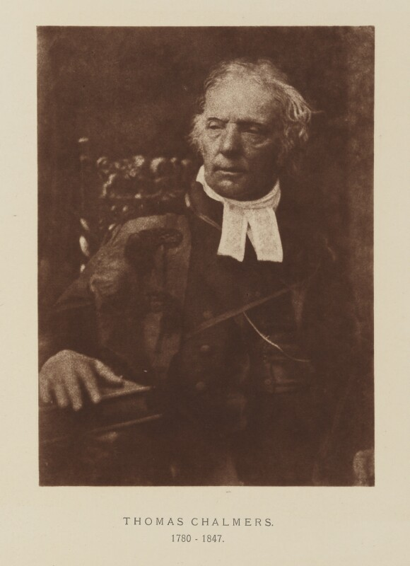 Thomas Chalmers, after David Octavius Hill, and  Robert Adamson, 1843-1848; published 1928 - NPG Ax29515 - © National Portrait Gallery, London