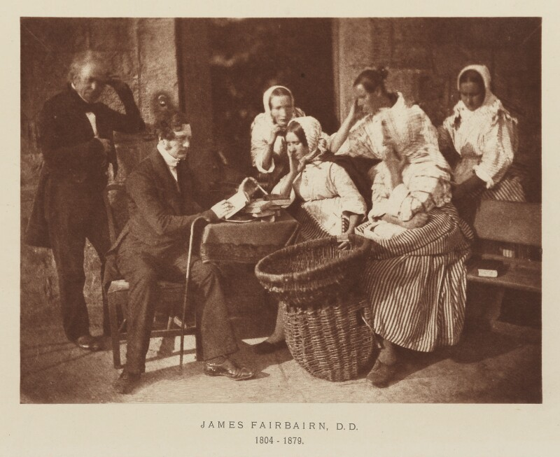 James Fairbairn; Mrs Carrie Noole; Bessy Crombie; Mary Combe; Margaret Lyall (née Dryburgh); James Gall, after David Octavius Hill, and  Robert Adamson, 1843-1848; published 1928 - NPG Ax29517 - © National Portrait Gallery, London