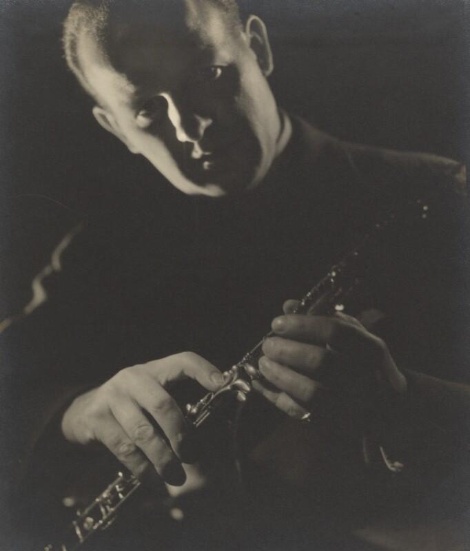 Leon Jean Goossens, by Howard Coster, 1935 - NPG Ax3473 - © National Portrait Gallery, London