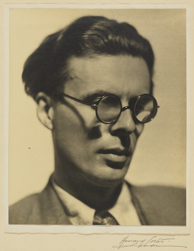 Aldous Huxley, by Howard Coster, 1934 - NPG Ax3486 - © National Portrait Gallery, London