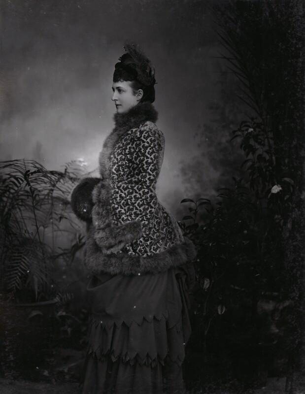 Queen Alexandra, by Lafayette, 27 April 1885 - NPG Ax36409 - © National Portrait Gallery, London