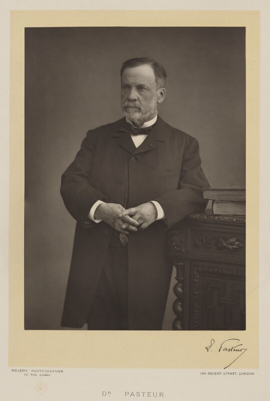 Louis Pasteur, by Walery, published by  Sampson Low & Co, published November 1889 - NPG Ax38307 - © National Portrait Gallery, London