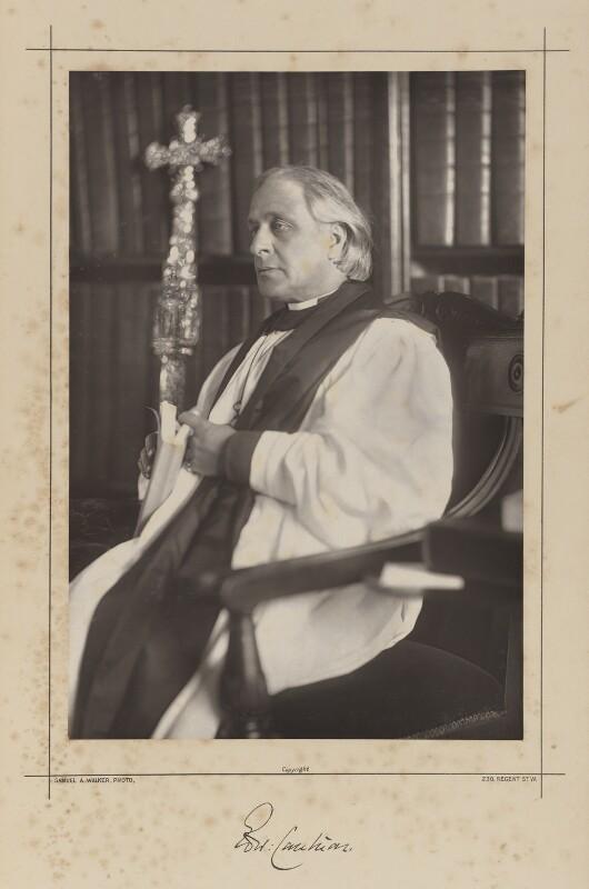 NPG Ax38331; Edward White Benson - Portrait - National Portrait ...