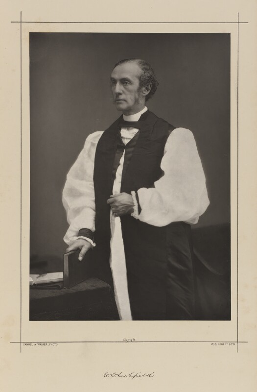 William Dalrymple Maclagan, by Samuel Alexander Walker, printed by  Waterlow & Sons Ltd, published August 1889 - NPG Ax38335 - © National Portrait Gallery, London