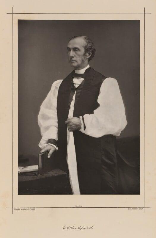 William Dalrymple Maclagan, by Samuel Alexander Walker, printed by  Waterlow & Sons Ltd, published August 1889 - NPG Ax38335 - © National Portrait Gallery, London