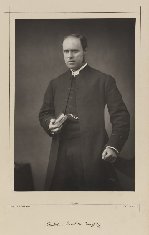 Randall Thomas Davidson, Baron Davidson of Lambeth, by Samuel Alexander Walker, printed by  Waterlow & Sons Ltd, published February 1890 - NPG Ax38355 - © National Portrait Gallery, London