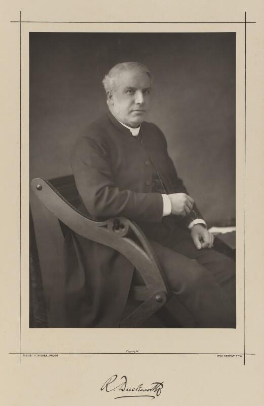 Robinson Duckworth, by Samuel Alexander Walker, printed by  Waterlow & Sons Ltd, published April 1890 - NPG Ax38362 - © National Portrait Gallery, London