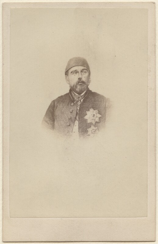 Called Abdul Aziz, by Unknown photographer, 1860s - NPG Ax38447 - © National Portrait Gallery, London