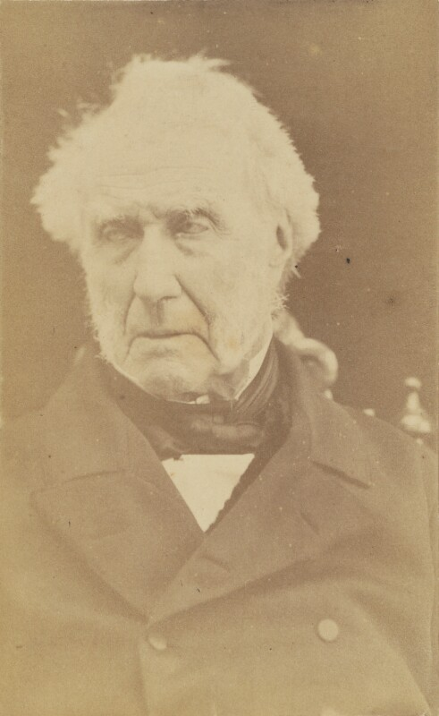 Stephen Lushington, by Unknown photographer, 1860s-1873 - NPG Ax38681 - © National Portrait Gallery, London