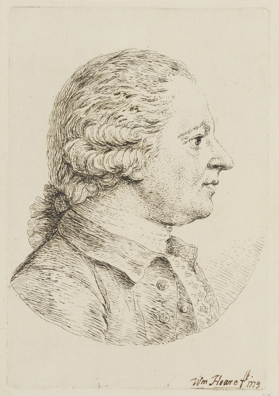 Christopher Anstey, by William Hoare, 1779 - NPG D15269 - © National Portrait Gallery, London