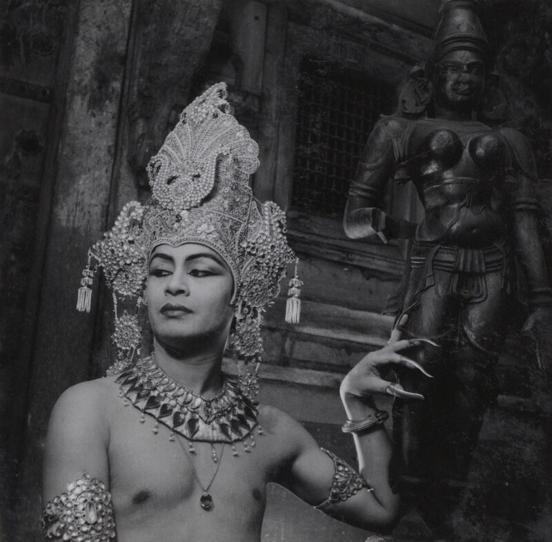 Pandit Ram Gopal, by Francis Goodman, circa 1946 - NPG Ax39655 - © National Portrait Gallery, London