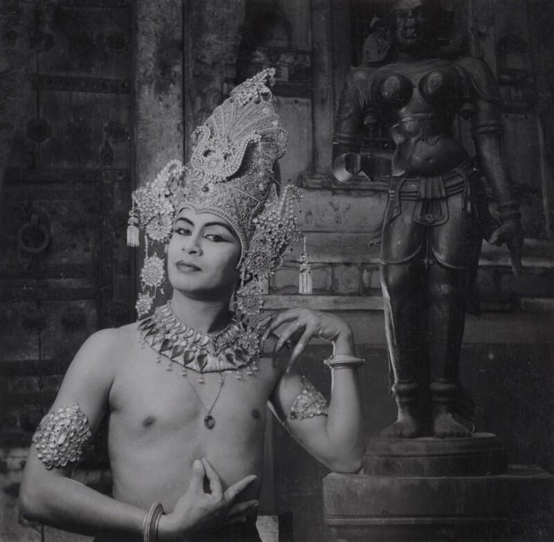 Pandit Ram Gopal, by Francis Goodman, circa 1946 - NPG Ax39656 - © National Portrait Gallery, London