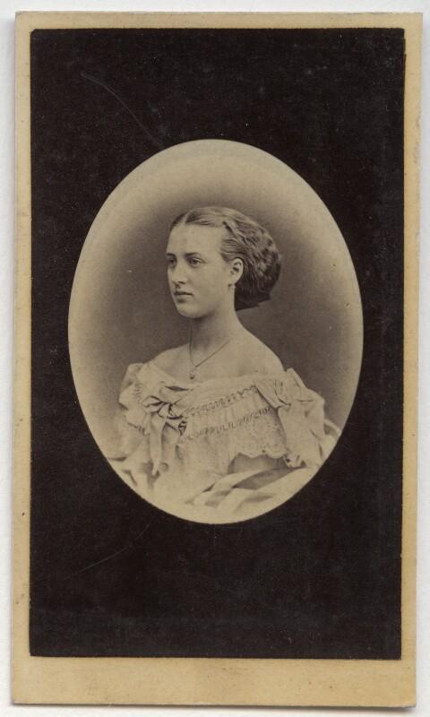 Queen Alexandra, by Rudolph Striegler, circa 1860 - NPG Ax39786 - © National Portrait Gallery, London