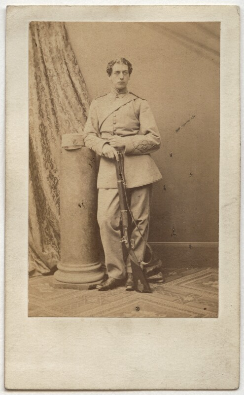 Edward Ross, by Antoine Claudet, early 1860s? - NPG Ax39805 - © National Portrait Gallery, London