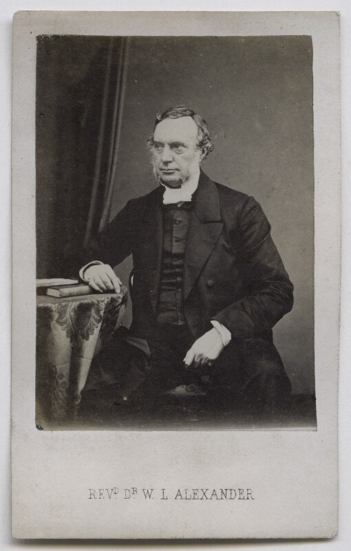 William Lindsay Alexander, by John Moffat, 1860s - NPG Ax39810 - © National Portrait Gallery, London