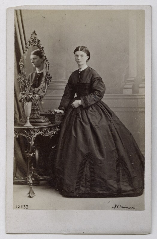 Louisa (née Montcrieffe), Duchess of Atholl, by William Notman, 1864 - NPG Ax39817 - © National Portrait Gallery, London