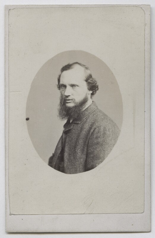 William Thomson, Baron Kelvin, by Unknown photographer, 1860s - NPG Ax39819 - © National Portrait Gallery, London