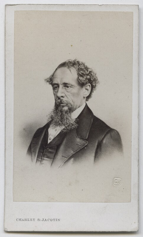 Charles Dickens, by Charlet & Jacotin, 1860s - NPG Ax39821 - © National Portrait Gallery, London