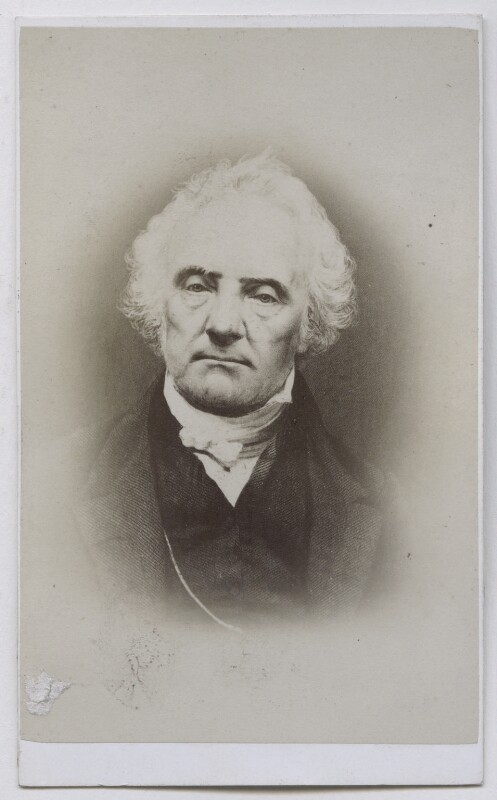 Thomas Chalmers, by Andrew Elliott, after  Antoine Claudet, 1860s (1840-1847) - NPG Ax39860 - © National Portrait Gallery, London