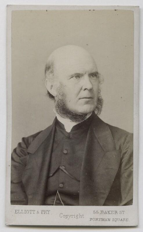 Reverend Edmond, by Elliott & Fry, 1860s-1870s - NPG Ax39906 - © National Portrait Gallery, London