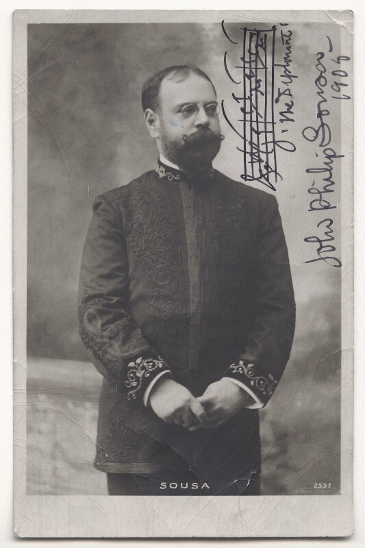 John Philip Sousa, by Unknown photographer, 1905 - NPG Ax45818 - © National Portrait Gallery, London