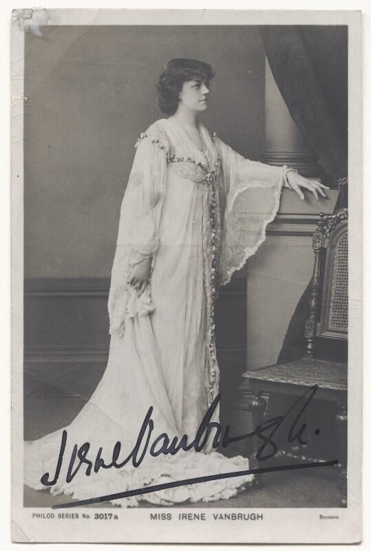 Irene Vanbrugh, by Bassano Ltd, 1900s - NPG Ax45846 - © National Portrait Gallery, London