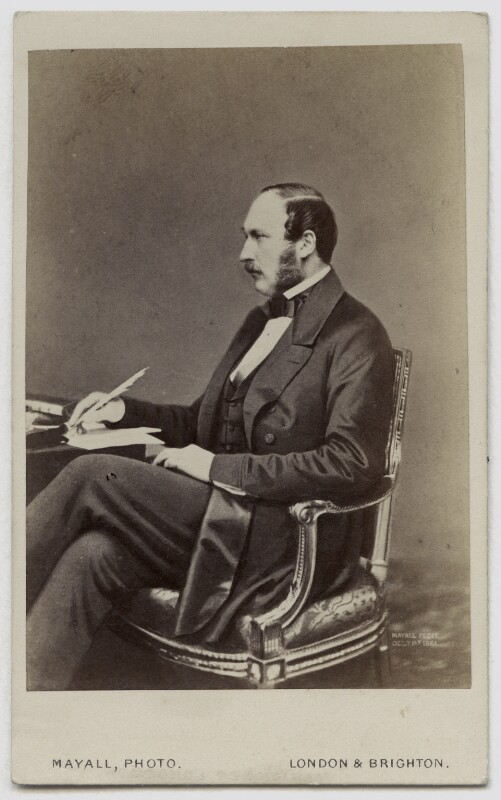 Prince Albert of Saxe-Coburg-Gotha, by John Jabez Edwin Mayall, late 1860s (May 1860) - NPG Ax46157 - © National Portrait Gallery, London
