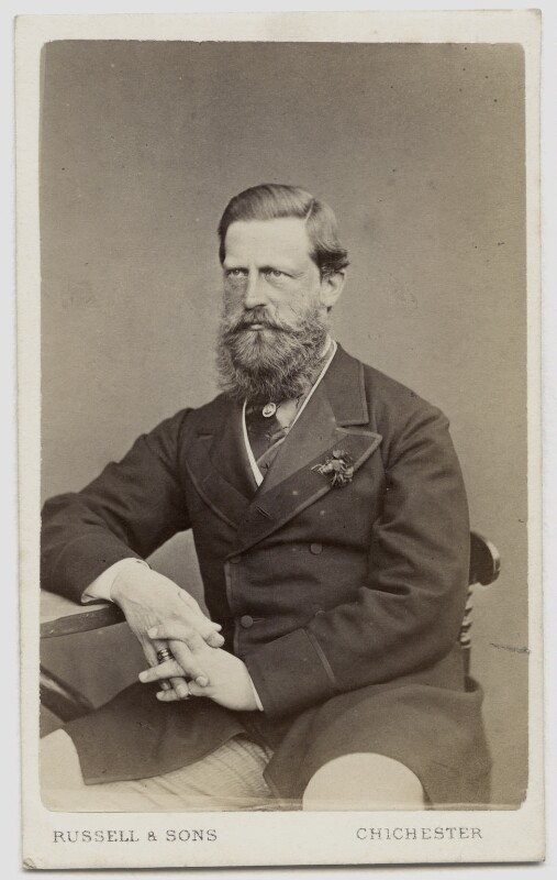 Frederick III, Emperor of Germany and King of Prussia, by James Russell & Sons, 1860s - NPG Ax46159 - © National Portrait Gallery, London