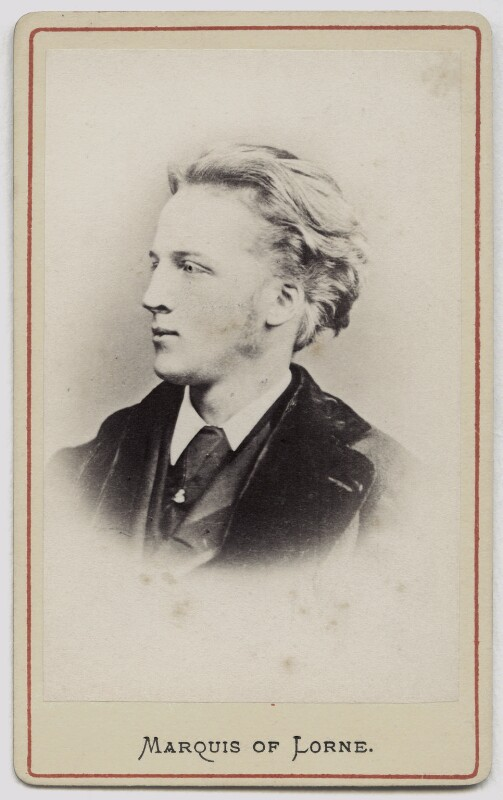 John Campbell, 9th Duke of Argyll, probably after W. & D. Downey, circa 1870 - NPG Ax46171 - © National Portrait Gallery, London