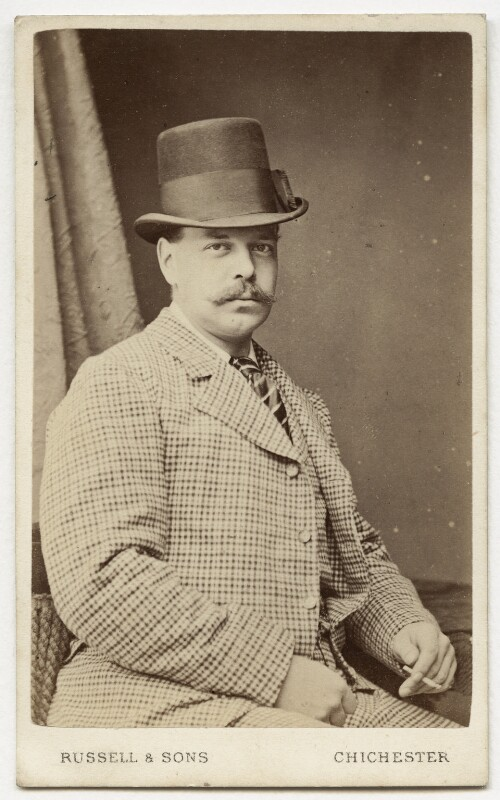 Alexander III, Emperor of Russia, by James Russell & Sons, 1870s - NPG Ax46189 - © National Portrait Gallery, London