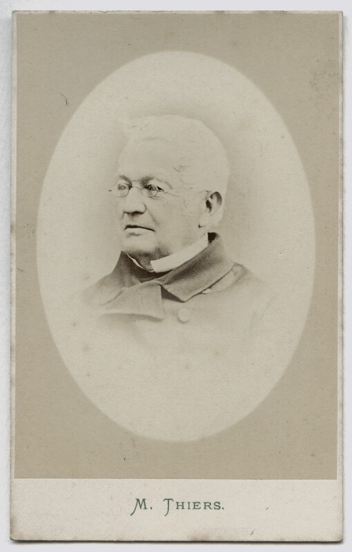 Louis Adolphe Thiers, by London Stereoscopic & Photographic Company, 1860s-1870s - NPG Ax46226 - © National Portrait Gallery, London