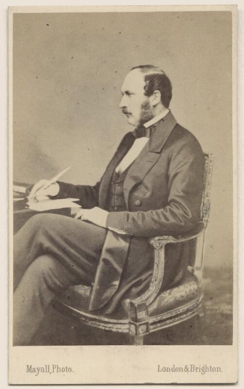 Prince Albert of Saxe-Coburg-Gotha, by John Jabez Edwin Mayall, May 1860 - NPG Ax46271 - © National Portrait Gallery, London