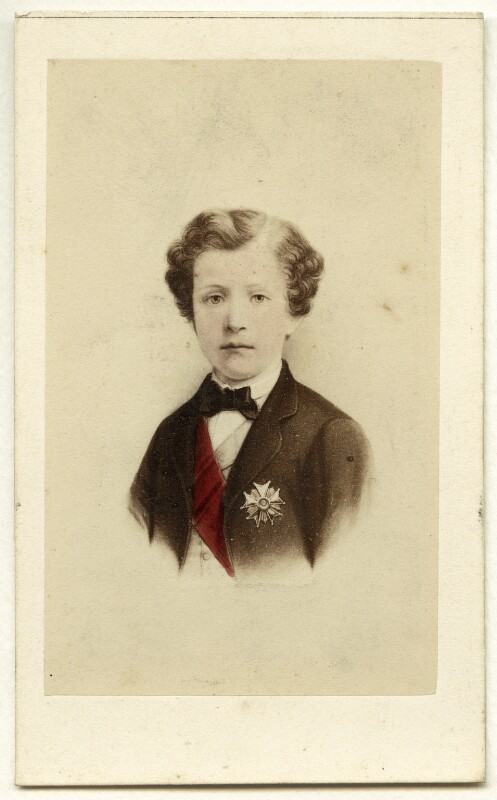 Napoléon, Prince Imperial, by Neurdein, after  Unknown engraver, 1860s - NPG Ax46793 - © National Portrait Gallery, London