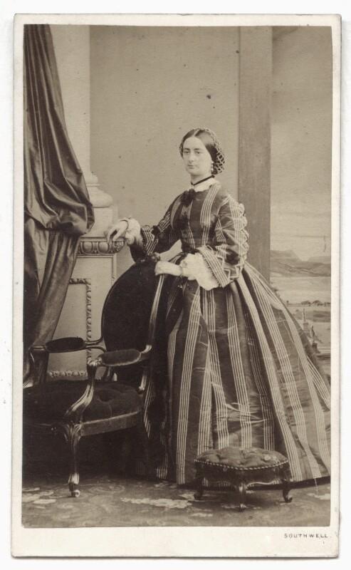 Emily Charlotte Fitzherbert (née Stafford-Jerningham), by William Henry Southwell, 1861 - NPG Ax46812 - © National Portrait Gallery, London