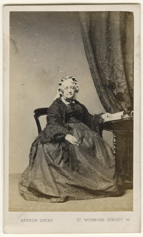 Katherine (née Arundell), Lady Doughty, by Arthur Lucas, 1867-1868 - NPG Ax46822 - © National Portrait Gallery, London